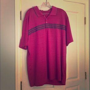 Adidas Men's XL golf polo shirt.